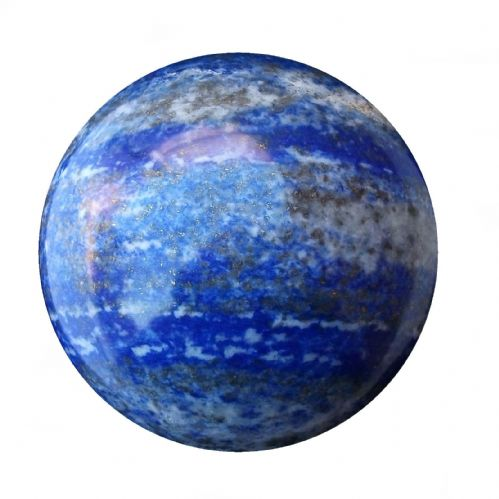Lapis Lazuli Fortune Telling Ball Gemstone Crystal Sphere 67mm 560g (LB12)